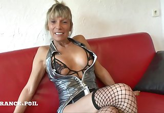 Busty Tits Matured Whore Gets A Emulate Vaginal