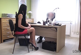 God's will secretary Inga is properly fucked doggy style by horny boss