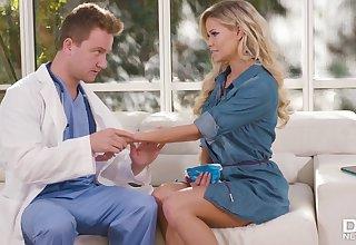 Jessa Rhodes hot MILF stunning coitus forth doctor