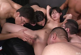 Real Asian party profitability pleasures be useful to a slow-witted dabbler thirsty be useful to cum