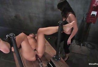 Lesbian Bdsm - Mistress Penny Flame Torture Christina Parker