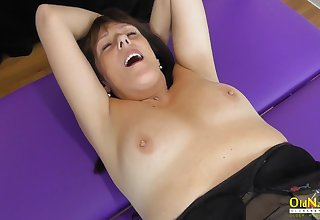 OldNannY Mature Lesbians Fingering and Toying