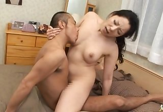 Natural confidential Japanese widely applicable Ayane Asakura enjoys getting fucked