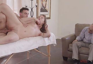 Hubby buys Sex Masseuse for Disgruntled Sweetie