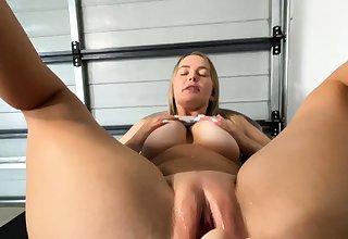 Of a female lesbian Eve Angel licks big boobs
