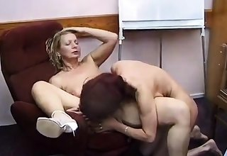 grown up amateurs have lunch able-bodied fuck their toys