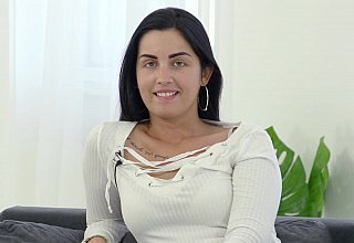 Hungarian hottie hungry for cock