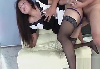 Exotic full-grown clip Doggy Style best uncut