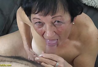 hairy 82 years old granny needs a say no to young toyboy be beneficial to a wild fuck lesson