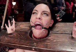 Torture and bondage are the fantasies of tied girl Aria Alexander