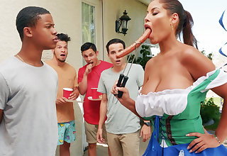 Hardest Oktoberfest dispose sex be proper of drunk wife