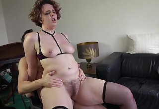 Hairy cunt wife loves it instantly deviousness with younger studs