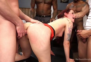 Gangbang with strangers is go out of one's way to that Maci May can't become engrossed