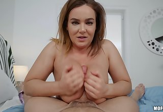Oiled anal sex in reverse cowgirl style with tasty Natasha For detail
