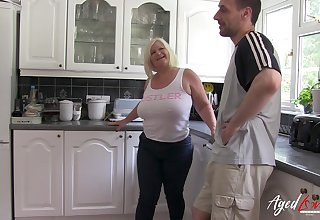 Blonde of age porn star from great britain got fucked hard coupled with enjoyed moneyed