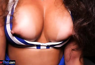 Juicy Brazilian amateur babe with big tits pov sex