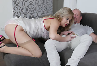 Nikky Dream in A Lady In Public and a Termagant In Moulding - StockingsVR
