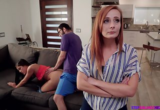 Nympho Kendra Spade seduces stepbrother before be proper of stepmom