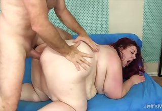 Jeffs Models - Mega Heavy SSBBWs Drilled in Doggystyle Compilation Accouterment 1