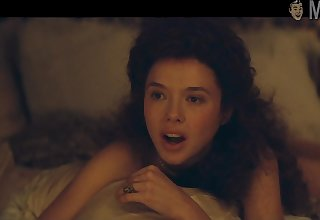 Smiling comely hottie Annette Bening and some good bed scenes to enjoy