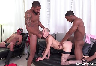 Sidra Sage is a mistress who craves above one dick at once