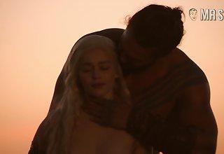 Khal Drogo fucks Khaleesi from Tomfoolery Thrones